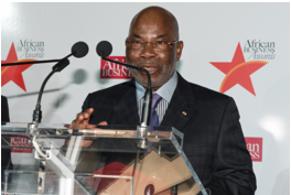 Gervais Koffi Djondo, President, Asky Airlines received the Lifetime Achievement Award in 2013.